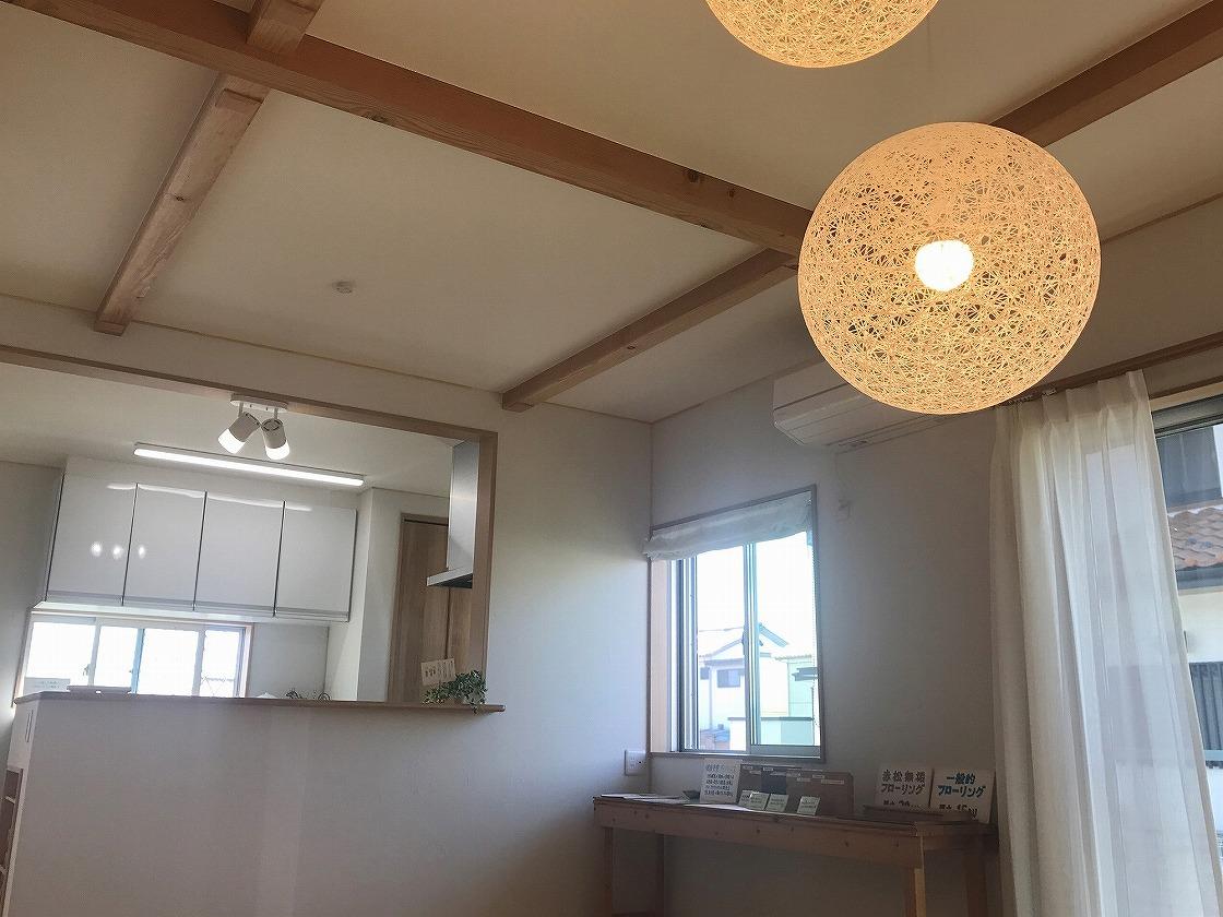 自然素材の温もり溢れる家